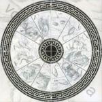 Композиция панно напольное InterCerama Alon 86 x 86 серый 071  комплект 4 шт