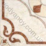 Плитка напольная InterCerama Castello 43 x 43 коричневый 022
