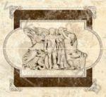 Композиция панно настенное InterCerama Emperador 46 x 50 031  комплект 2 шт