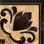 Плитка декор настенная InterCerama Emperador 13.7 x 13.7 коричневый 031
