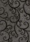 Плитка декор настенная БерезаКерамика Капри Жемчужина 25 x 35 черный 470839