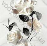 Композиция панно OPOCZNO Carrara white inserto flower 58.3 x 59.3  комплект 2 шт