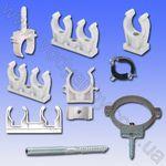 Хомуты металлические (крепления) для труб