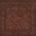 Плитка напольная Аризона 400 x 400 матовая рельефная коричневый Б37830