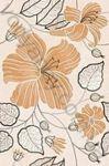 Плитка декор настенная Карат 200 x 300 рельефная люстр глазурь бежевый Е91301