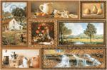 Плитка декор настенная InterCerama Grani 23 x 35 коричневый 031