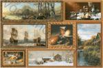 Плитка декор настенная InterCerama Grani 23 x 35 коричневый 031-1