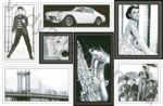 Плитка декор настенная InterCerama Grani 23 x 35 серый 071-1