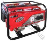 Генератор бензиновый  Бригадир Standart   БГ-2500 2.5 кВт ручной стартер 64997000