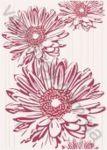 Плитка декор настенная TULUZA FLOWER 25 x 35 CERSANIT