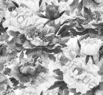 Композиция панно настенное InterCerama Metalico 46 x 50 черный 081 комплект 2 шт