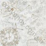 Плитка декор напольная InterCerama Cementic 43 x 43 серый 071