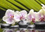 Композиция панно BELANI Azalia orchid pistachio 50 x 70