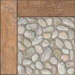 Плитка грес / керамогранит глазурованный BELANI Prague pale 41.8 x 41.8