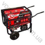 Генератор бензиновый INTERTOOL 5.5 кВт электрический и ручной стартер DT-1155