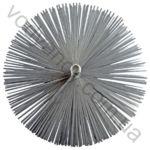 Щетка для чистки дымохода D= 150 мм из плоского провода