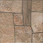Плитка грес / керамогранит глазурованный MILANO brown 29.8 x 29.8 CERSANIT