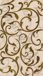 Плитка декор настенная InterCerama Fantasia 23 x 40 бежевый 021-2