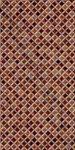 Плитка настенная BELANI СИМФОНИЯ 25 x 50 темно-коричневый