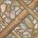 Плитка напольная BELANI АРИЗОНА 41.8 x 41.8 коричневый