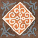 Плитка декор напольная Africa mix 1 186 x 186 Н1Б01