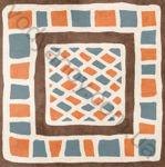 Плитка декор напольная Africa mix 2 186 x 186 Н1Б02