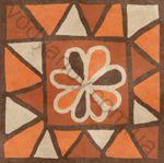Плитка декор напольная Africa mix 4 186 x 186 Н1Б04