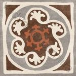 Плитка декор напольная Africa mix 5 186 x 186 Н1Б05