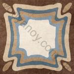 Плитка декор напольная Africa mix 6 186 x 186 Н1Б06