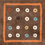 Плитка декор напольная Africa mix 8 186 x 186 Н1Б08