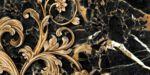 Плитка декор настенная Saint Laurent черный-3 300 x 600 9АС331