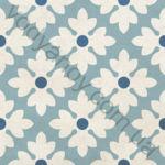 Плитка напольная Victorian mix-2 голубой 186 x 186 1V3120