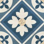 Плитка напольная Victorian mix-4 голубой 186 x 186 1V3140