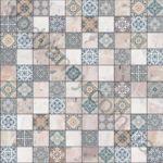 Плитка напольная Belani Терраццо 30 x 30 синий 202502