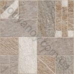 Плитка напольная Misto Mattone 400 x 400 коричневый 3F783