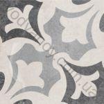 Плитка декор напольная Ethno mix-25 186 x 186 Н8Б25