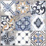 Плитка декор напольная Limestone Vintage 1 600 x 600 ректифицированная 23Б54