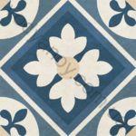 Плитка декор напольная Primavera mix 4 186 x 186 3VБ14