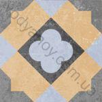 Плитка декор напольная Ethno mix-22 186 x 186 Н8Б22