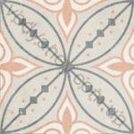 Плитка декор напольная Ethno mix-24 186 x 186 Н8Б24