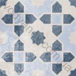 Плитка декор напольная Ethno mix-15 186 x 186 Н8Б15
